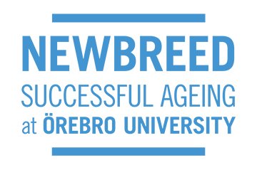 Logga med texten Newbreed Successful Ageing at Örebro University