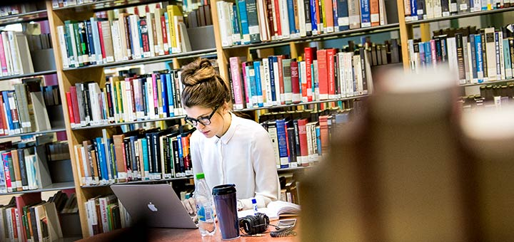 Student studying on the Master's programme in Social Analysis