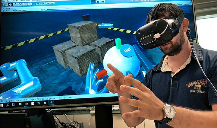 Mixed Reality in Industrial Applications