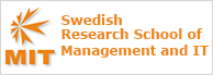 The Swedish Research School on Management and IT (MIT)