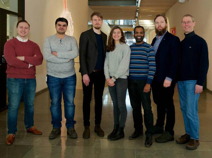 Bild på forskargruppen
