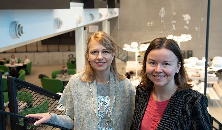 Anna Kremel och Sabina DuRietz
