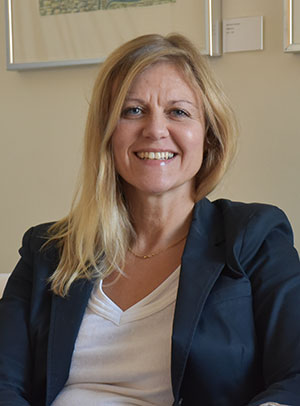 Åsa Allard, who is executive manager for the project