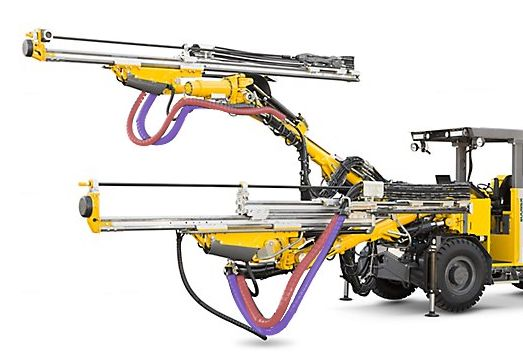 Drill rig.